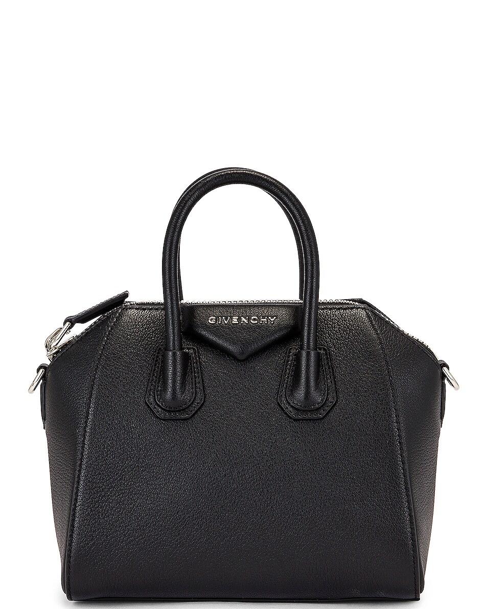 Image 3 of Givenchy Mini Sugar Antigona in Black