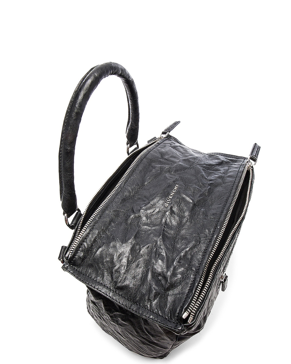 Image 4 of Givenchy Medium Old Pepe Pandora in Black
