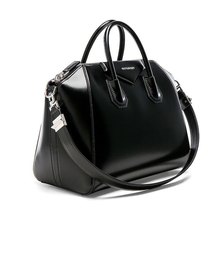 Image 4 of Givenchy Medium Box Antigona in Black