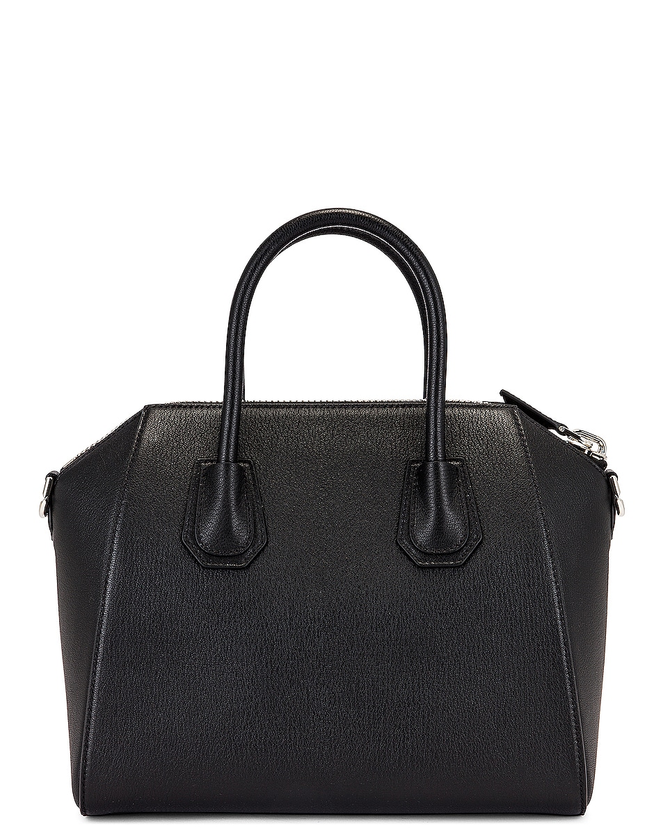 Image 3 of Givenchy Small Sugar Antigona in Black