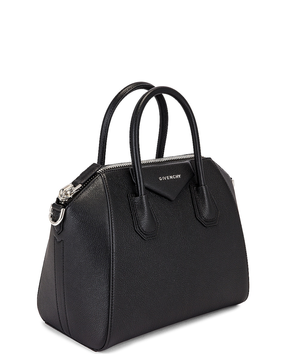 Image 4 of Givenchy Small Sugar Antigona in Black