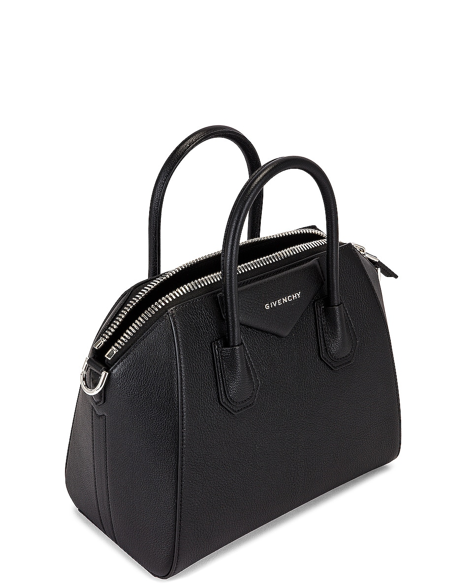 Image 5 of Givenchy Small Sugar Antigona in Black