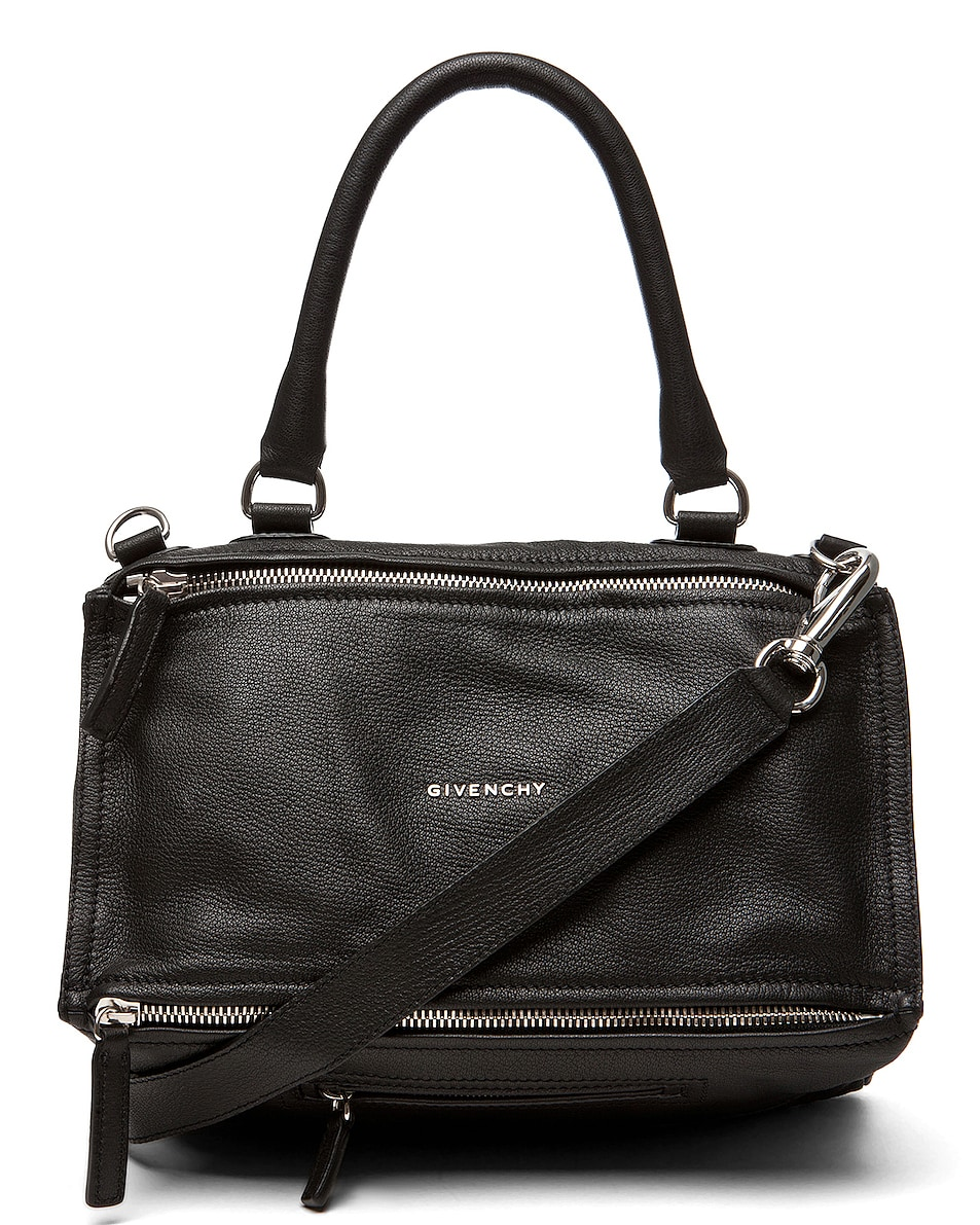Image 1 of Givenchy Medium Sugar Pandora in Black