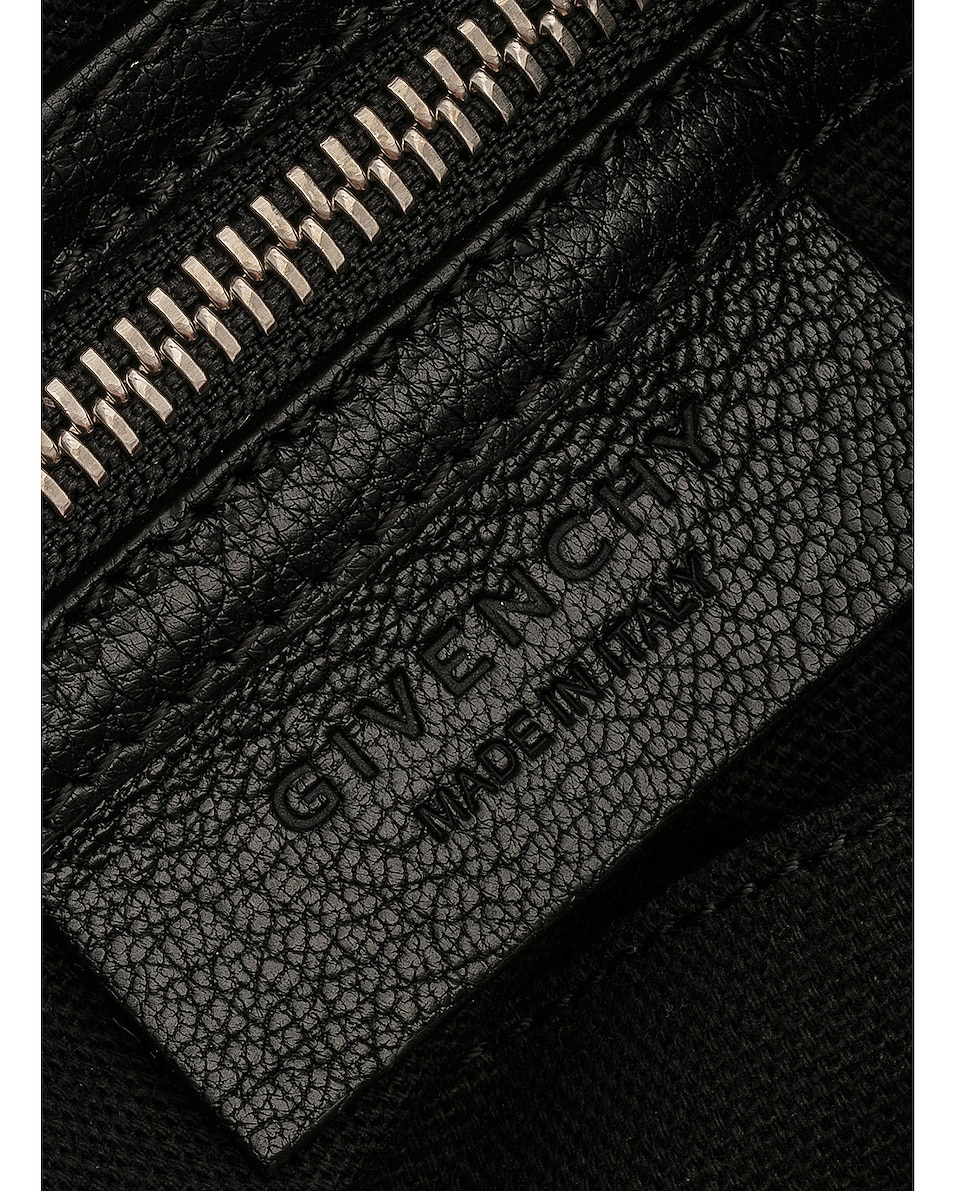 Image 7 of Givenchy Small Logo Strap Pandora in Black