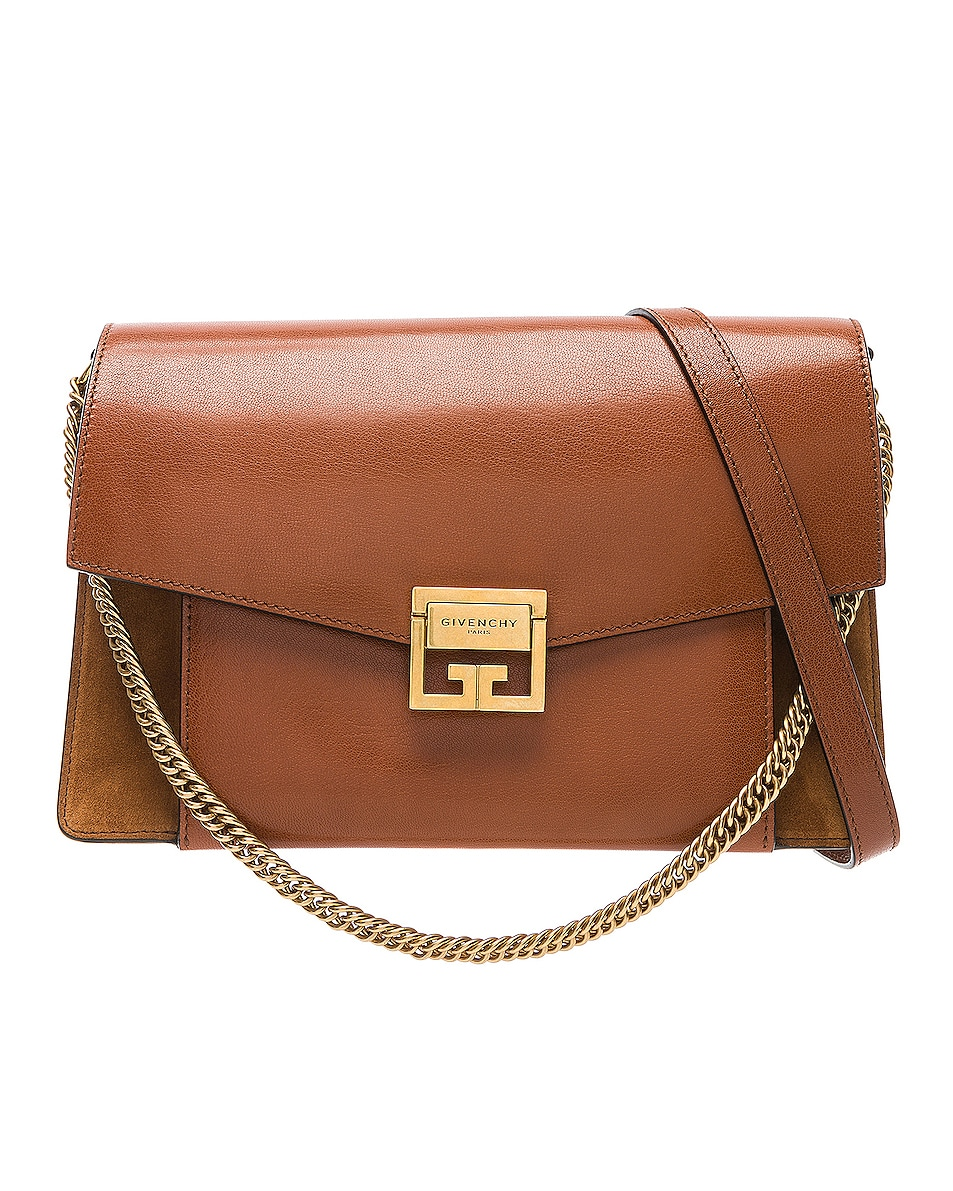 Image 1 of Givenchy Medium Leather GV3 in Chestnut