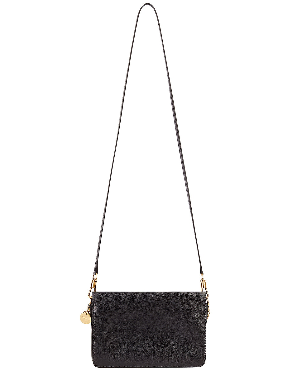 Image 4 of Givenchy Cross3 Leather Crossbody Bag in Black