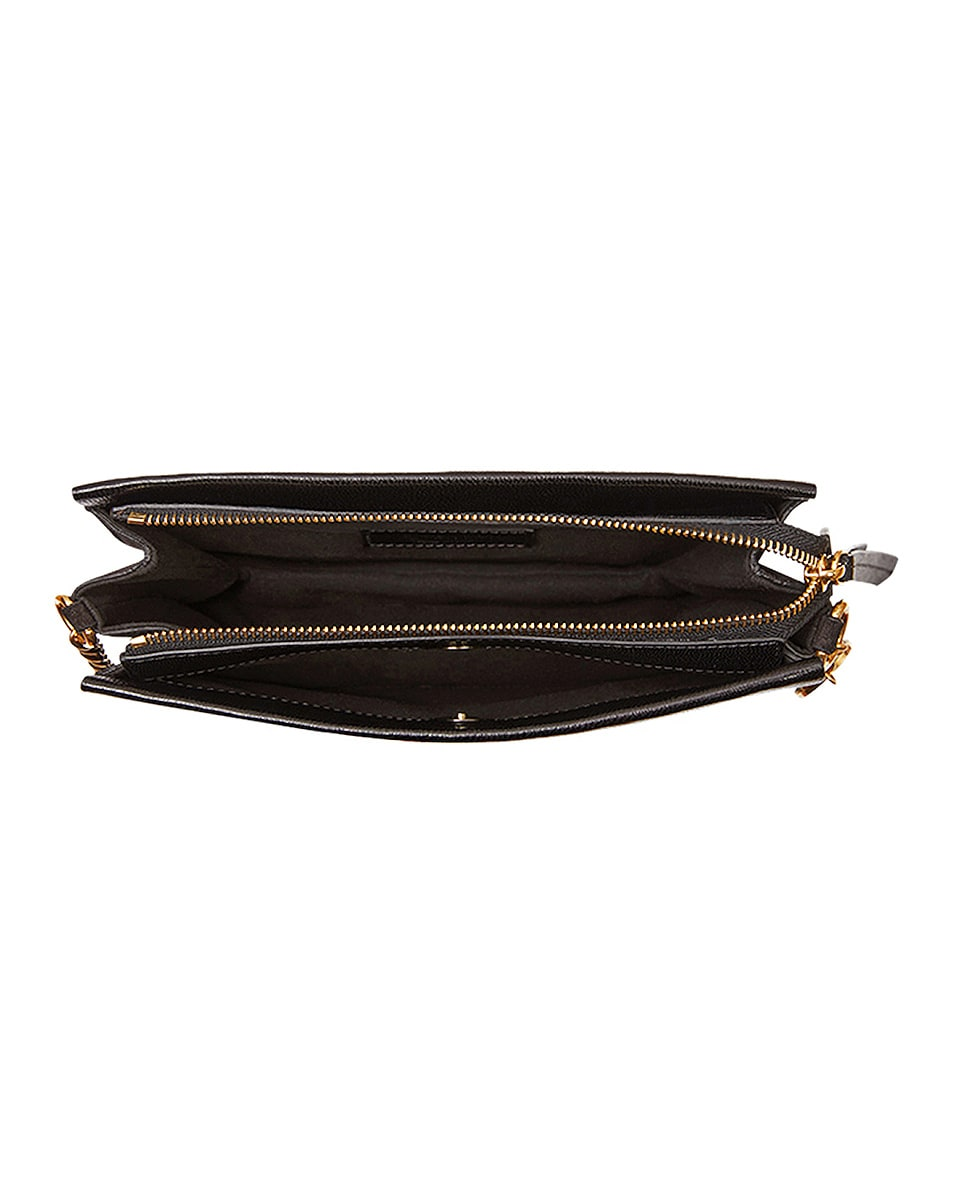 Image 6 of Givenchy Cross3 Leather Crossbody Bag in Black