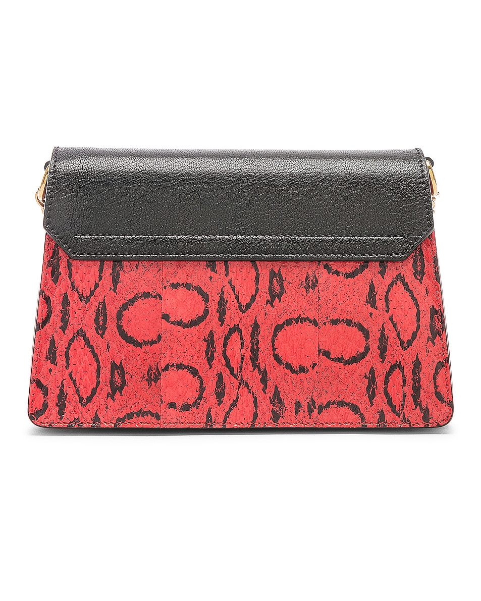 Image 3 of Givenchy Small Leather GV3 in Red & Black