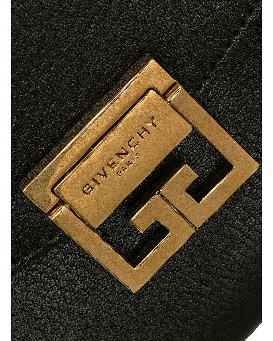 Image 8 of Givenchy Small Leather GV3 in Red & Black