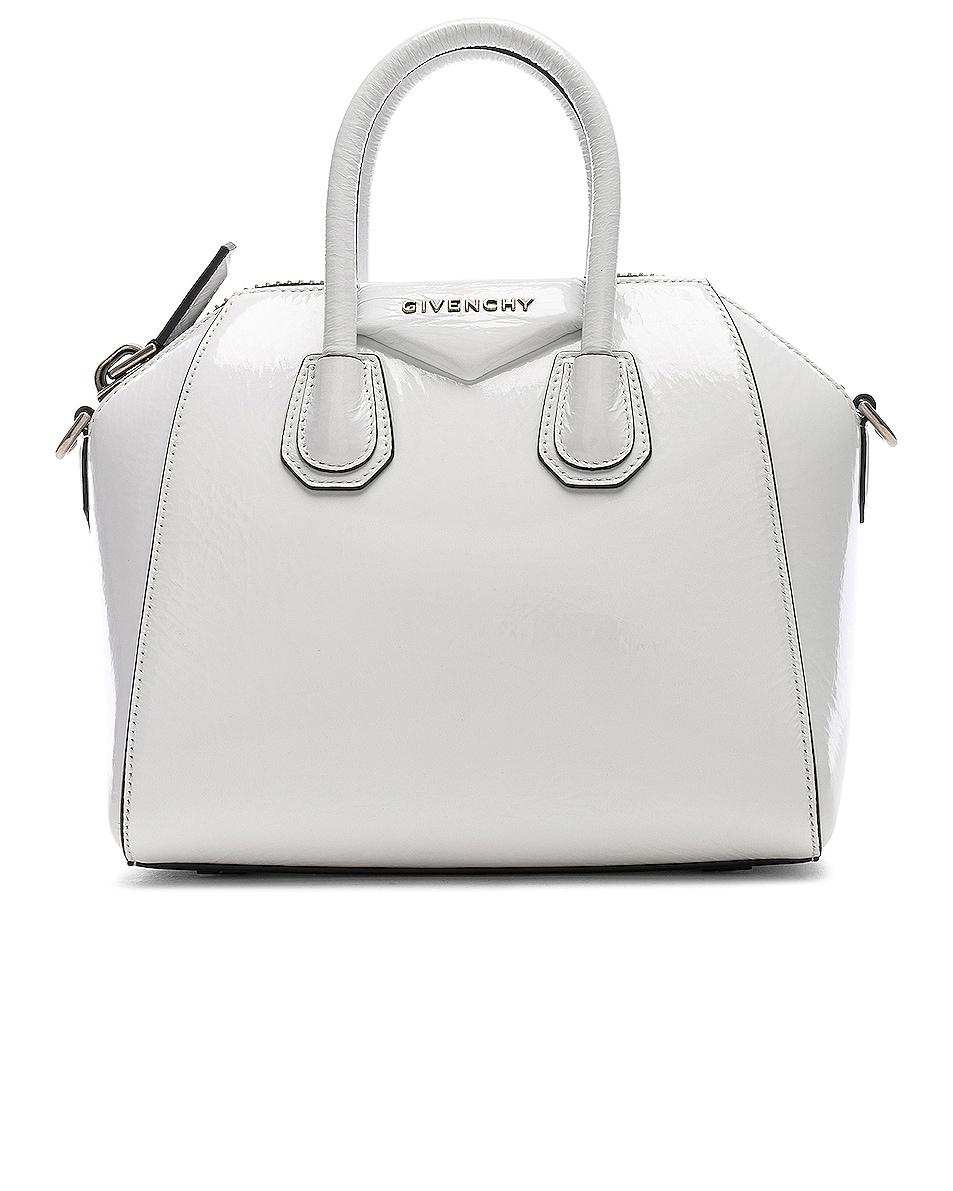 Image 1 of Givenchy Mini Antigona in White
