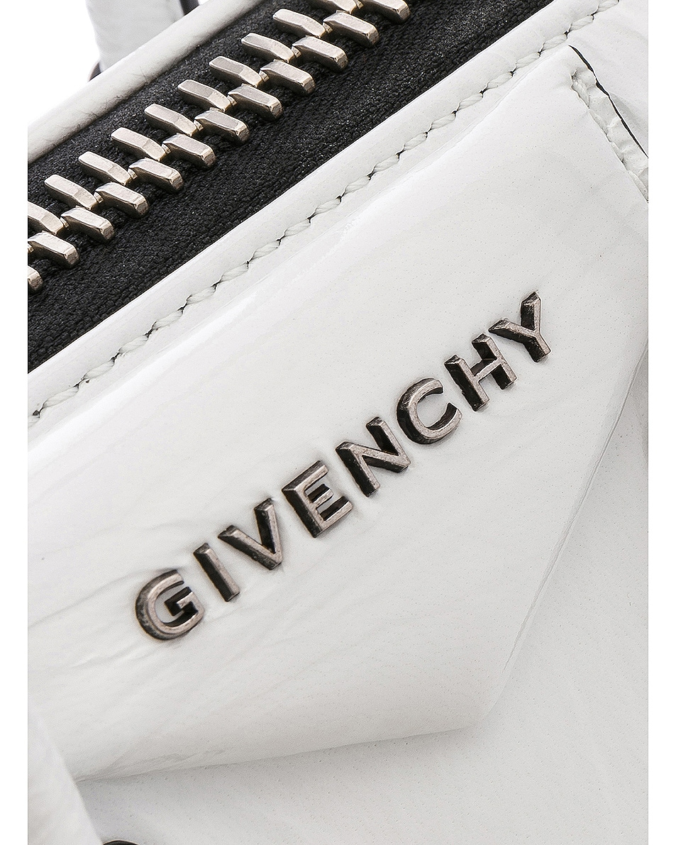 Image 8 of Givenchy Mini Antigona in White