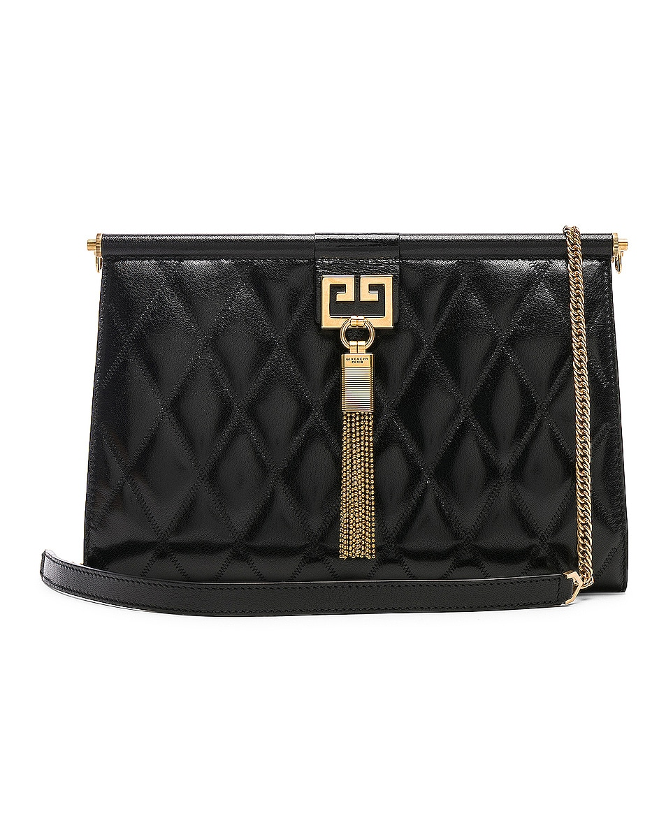 Image 1 of Givenchy Medium Gem Shoulder Bag in Black