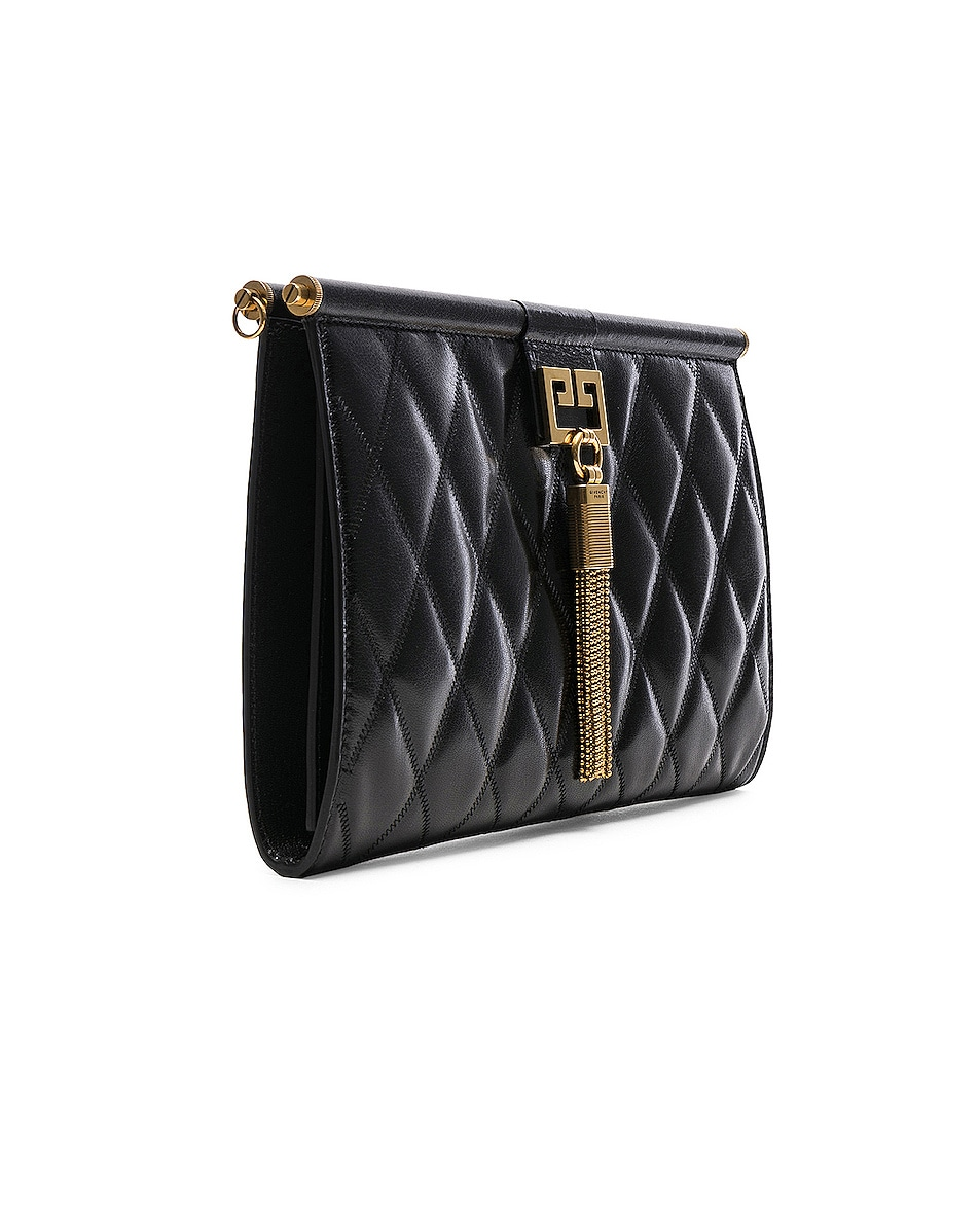 Image 4 of Givenchy Medium Gem Shoulder Bag in Black