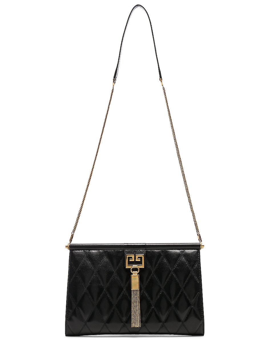 Image 6 of Givenchy Medium Gem Shoulder Bag in Black
