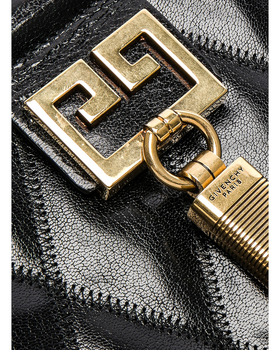 Image 8 of Givenchy Medium Gem Shoulder Bag in Black