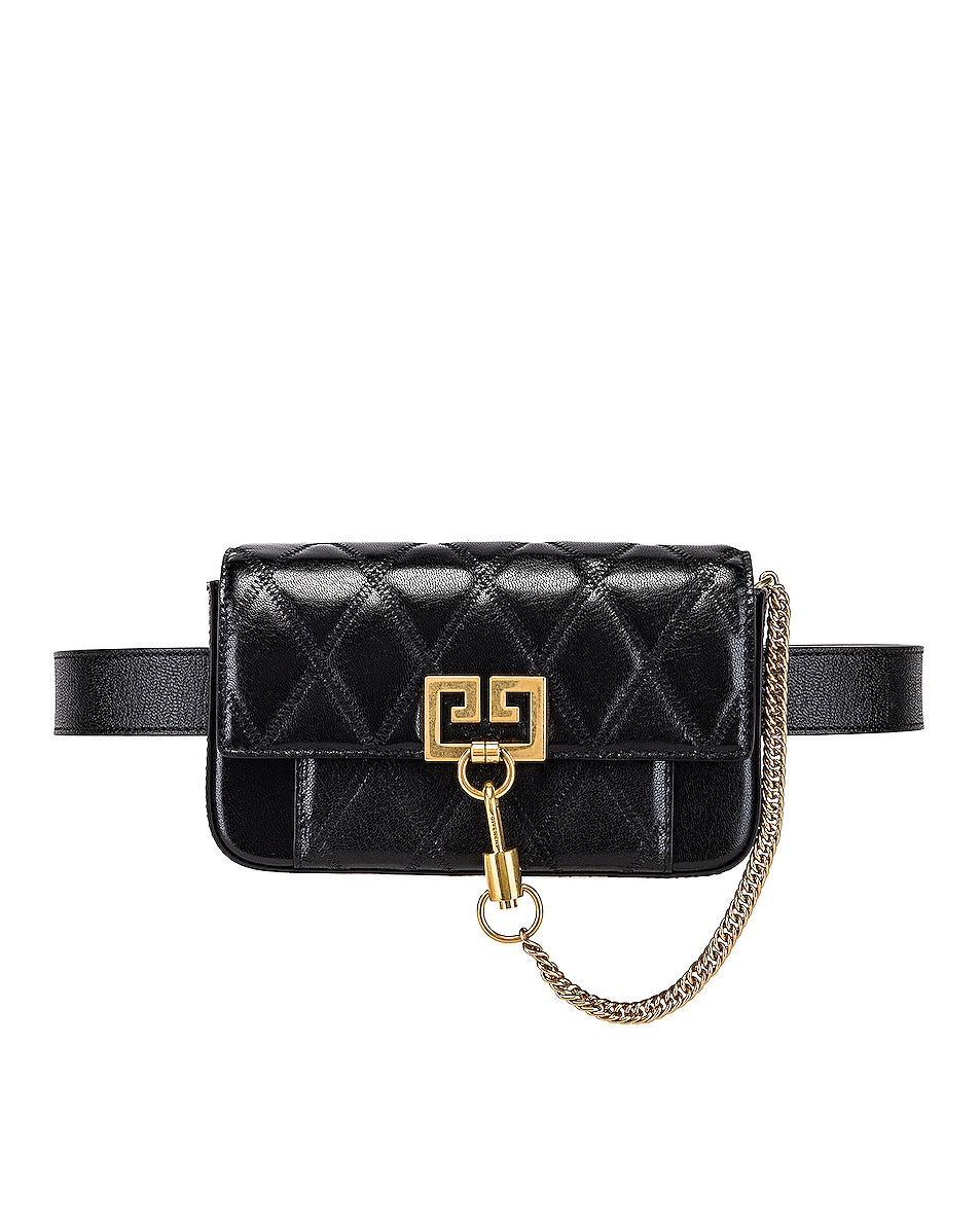 Image 4 of Givenchy Mini Pocket Chain Bag in Black