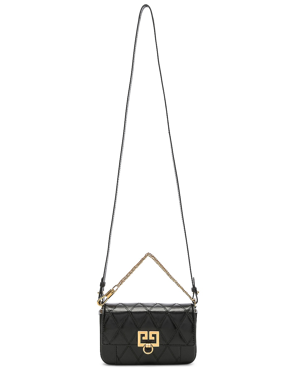 Image 6 of Givenchy Mini Pocket Chain Bag in Black