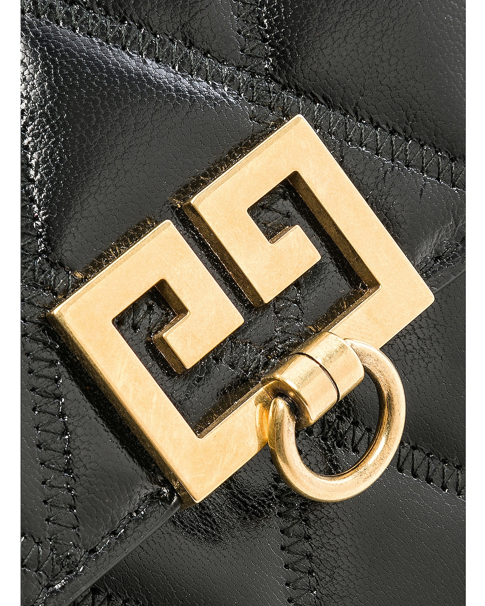 Image 8 of Givenchy Mini Pocket Chain Bag in Black