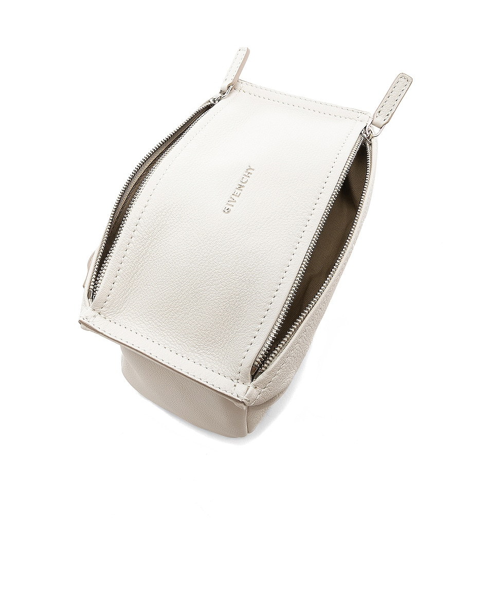 Image 4 of Givenchy Mini Pandora Bag in White