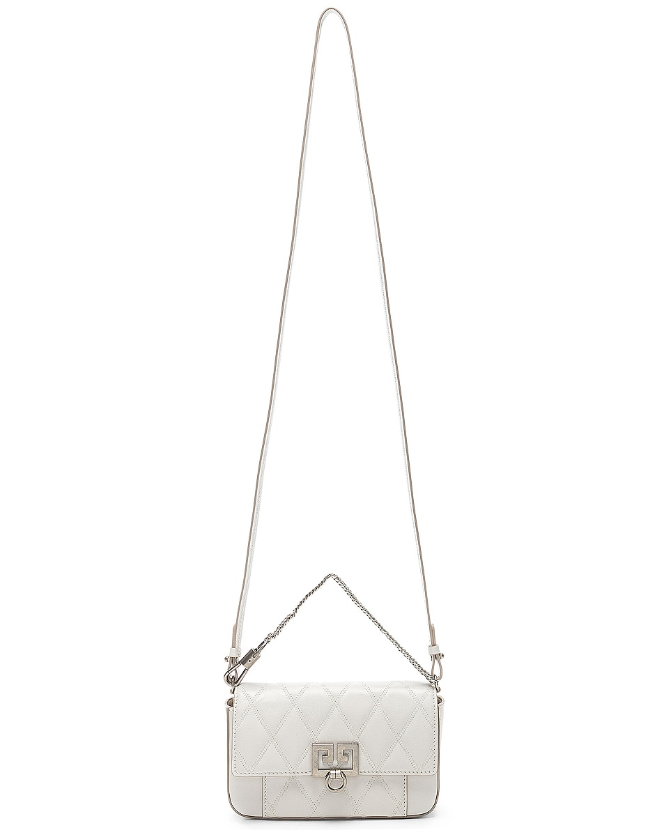 Image 6 of Givenchy Mini Pocket Chain Bag in White