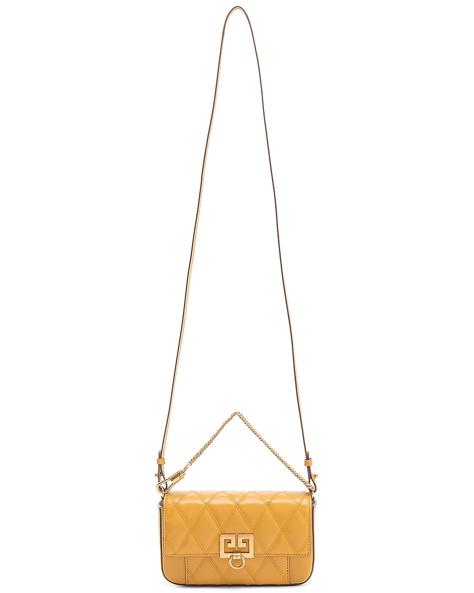 Image 6 of Givenchy Mini Pocket Chain Bag in Golden