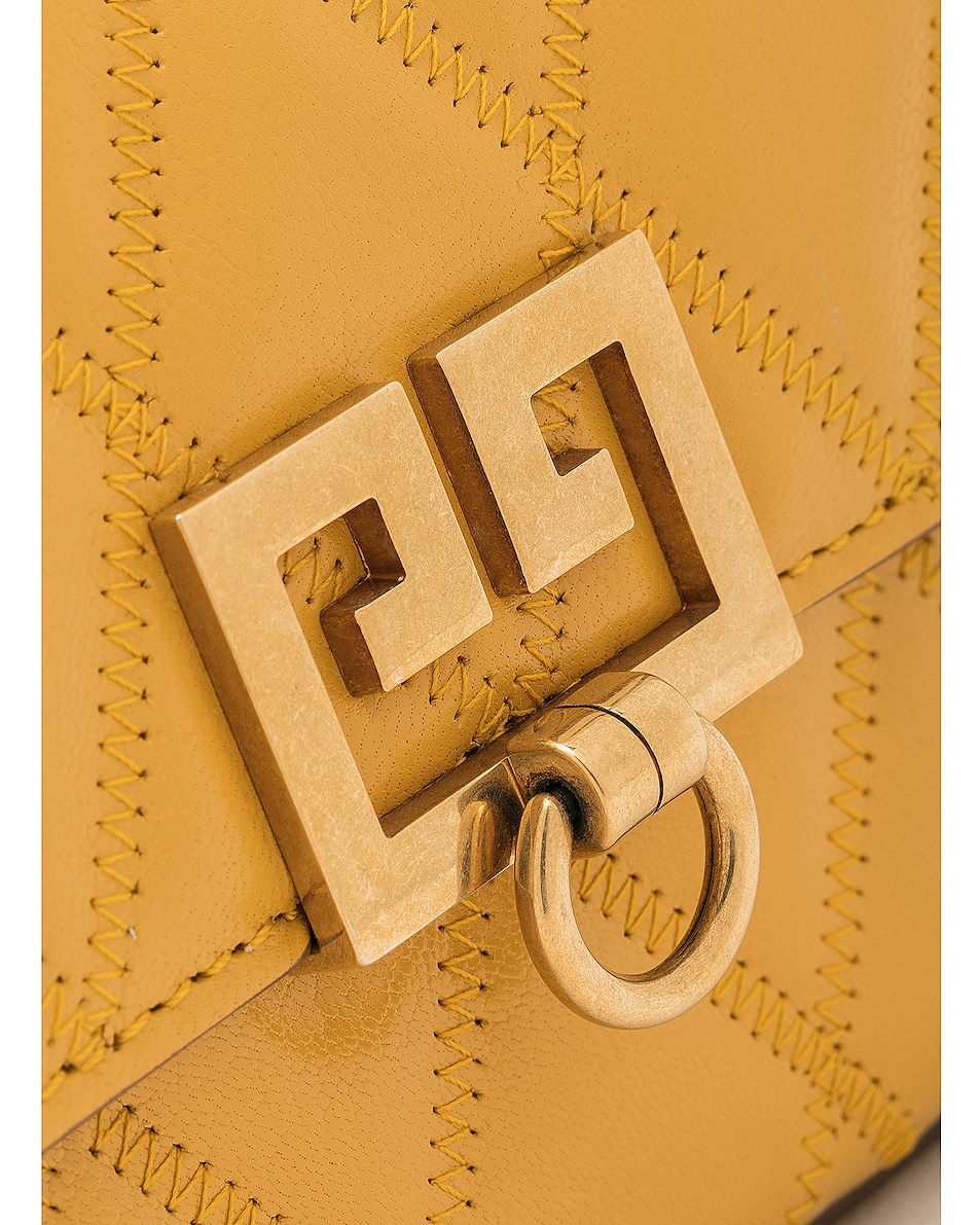 Image 8 of Givenchy Mini Pocket Chain Bag in Golden