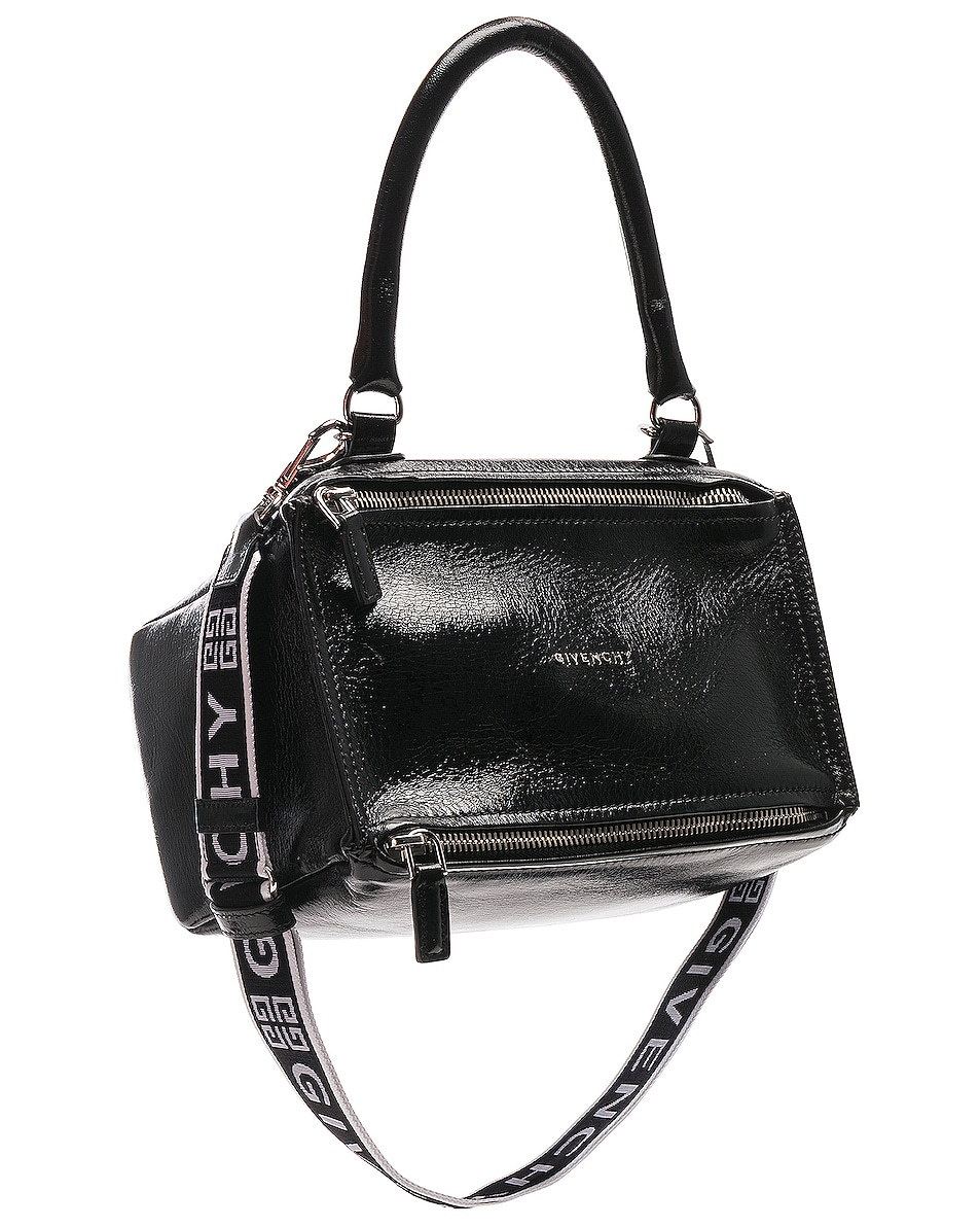 Image 1 of Givenchy 4G Strap Small Pandora in Black