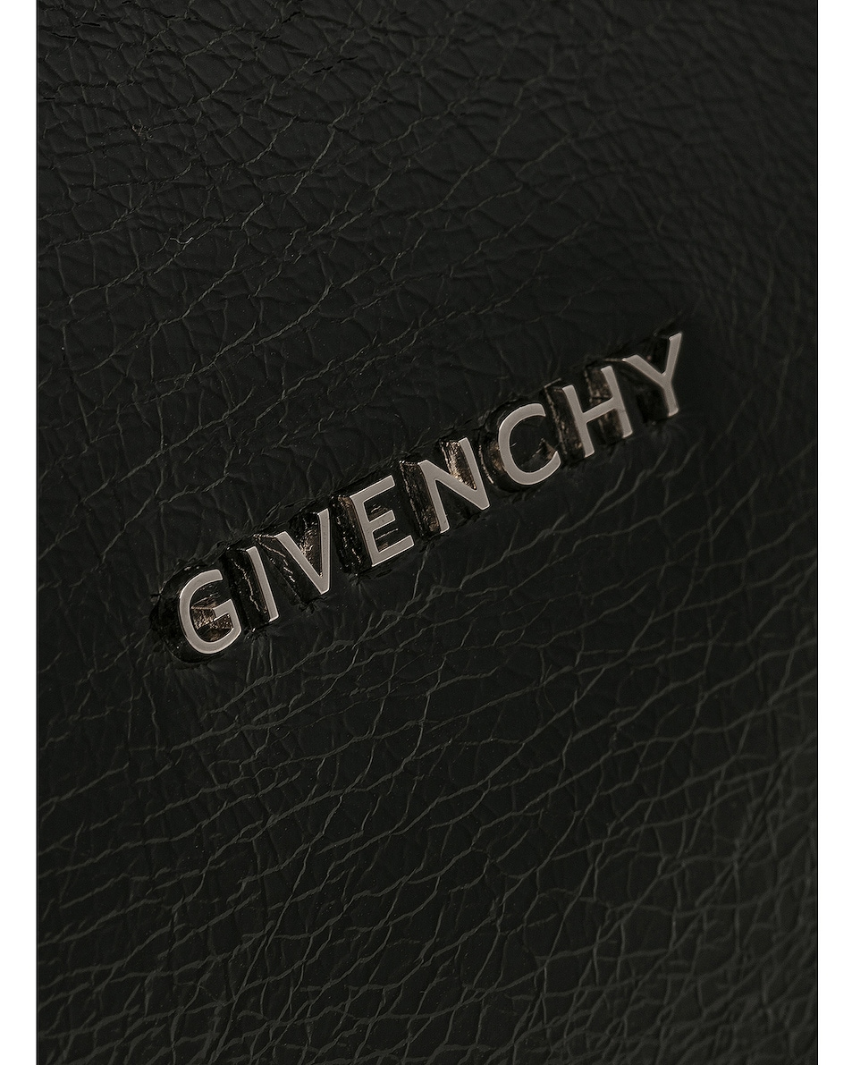 Image 6 of Givenchy 4G Strap Small Pandora in Black
