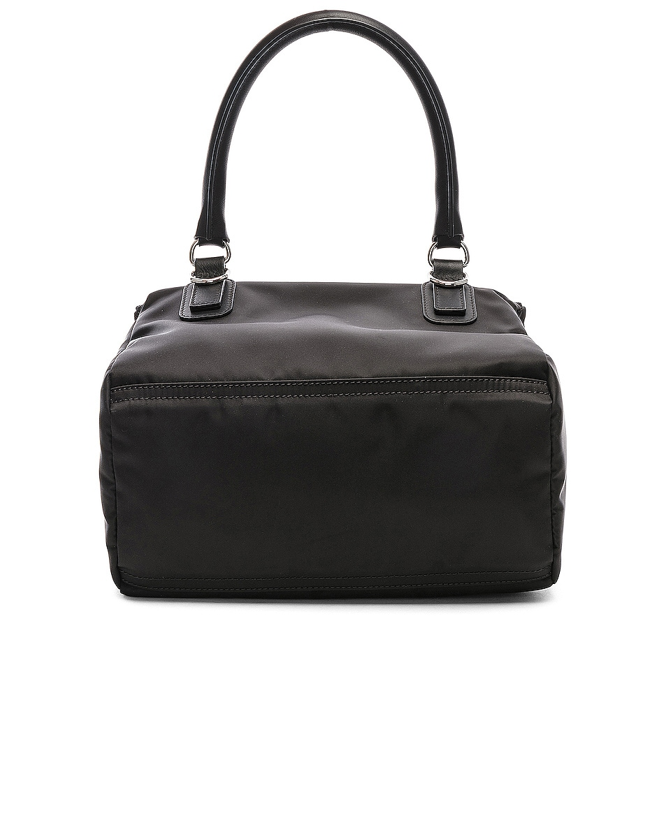 Image 3 of Givenchy Paris Nylon Small Pandora Bag in Black