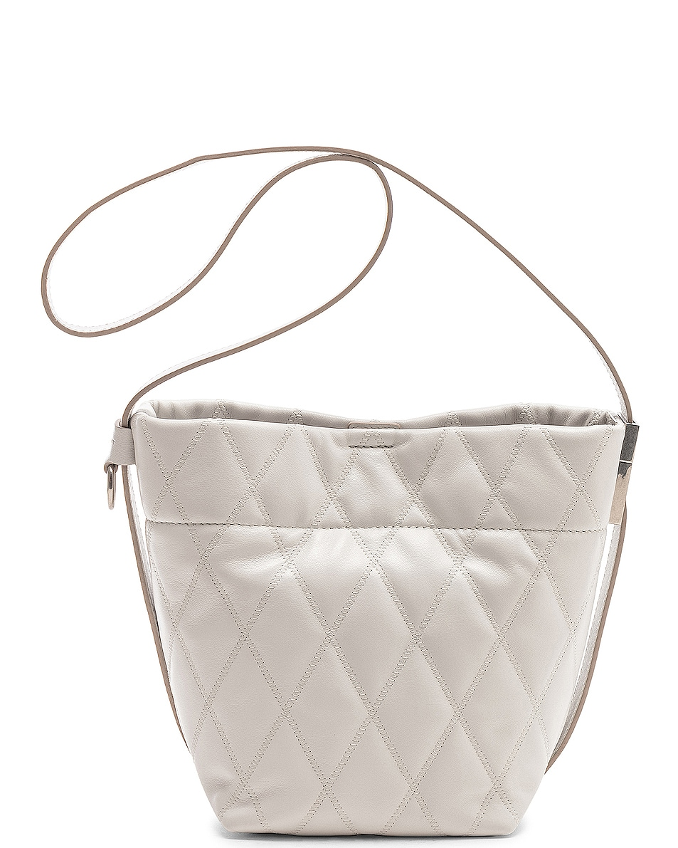 Image 3 of Givenchy Mini GV Convertible Bucket Bag in White