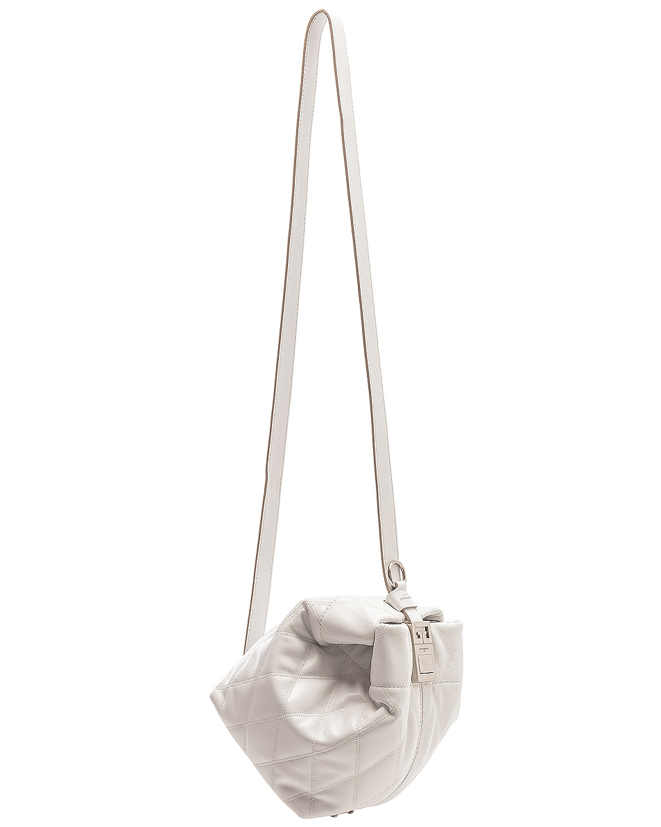 Image 4 of Givenchy Mini GV Convertible Bucket Bag in White
