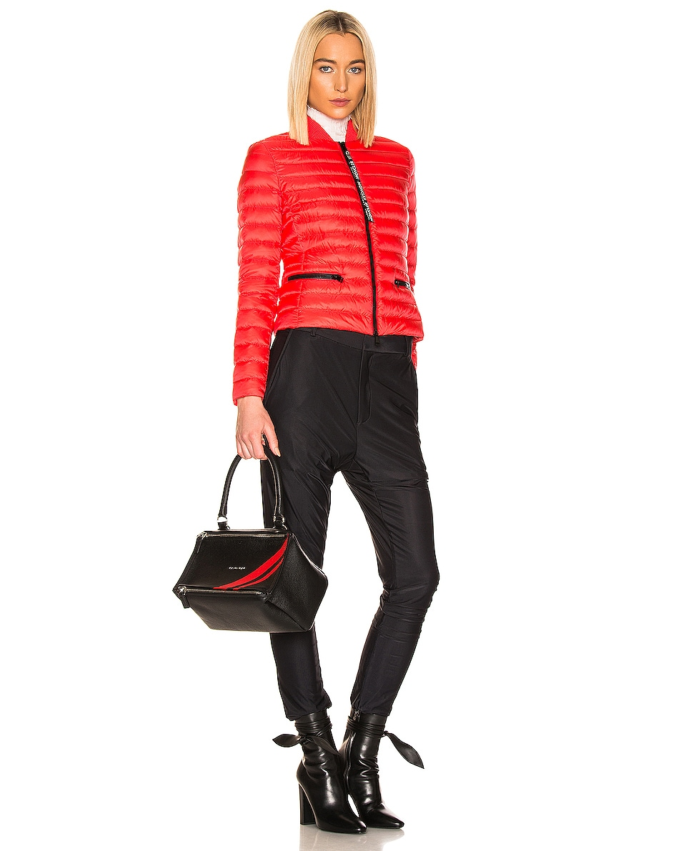 Image 2 of Givenchy Red Stripe Small Pandora Bag in Black & Red