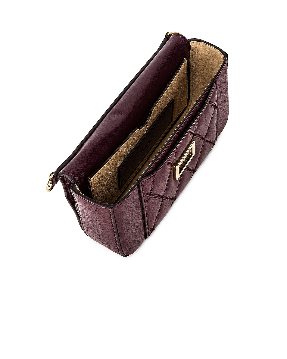 Image 5 of Givenchy Mini Pocket Chain Bag in Aubergine