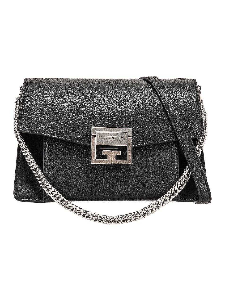 Image 1 of Givenchy Small Leather GV3 in Black