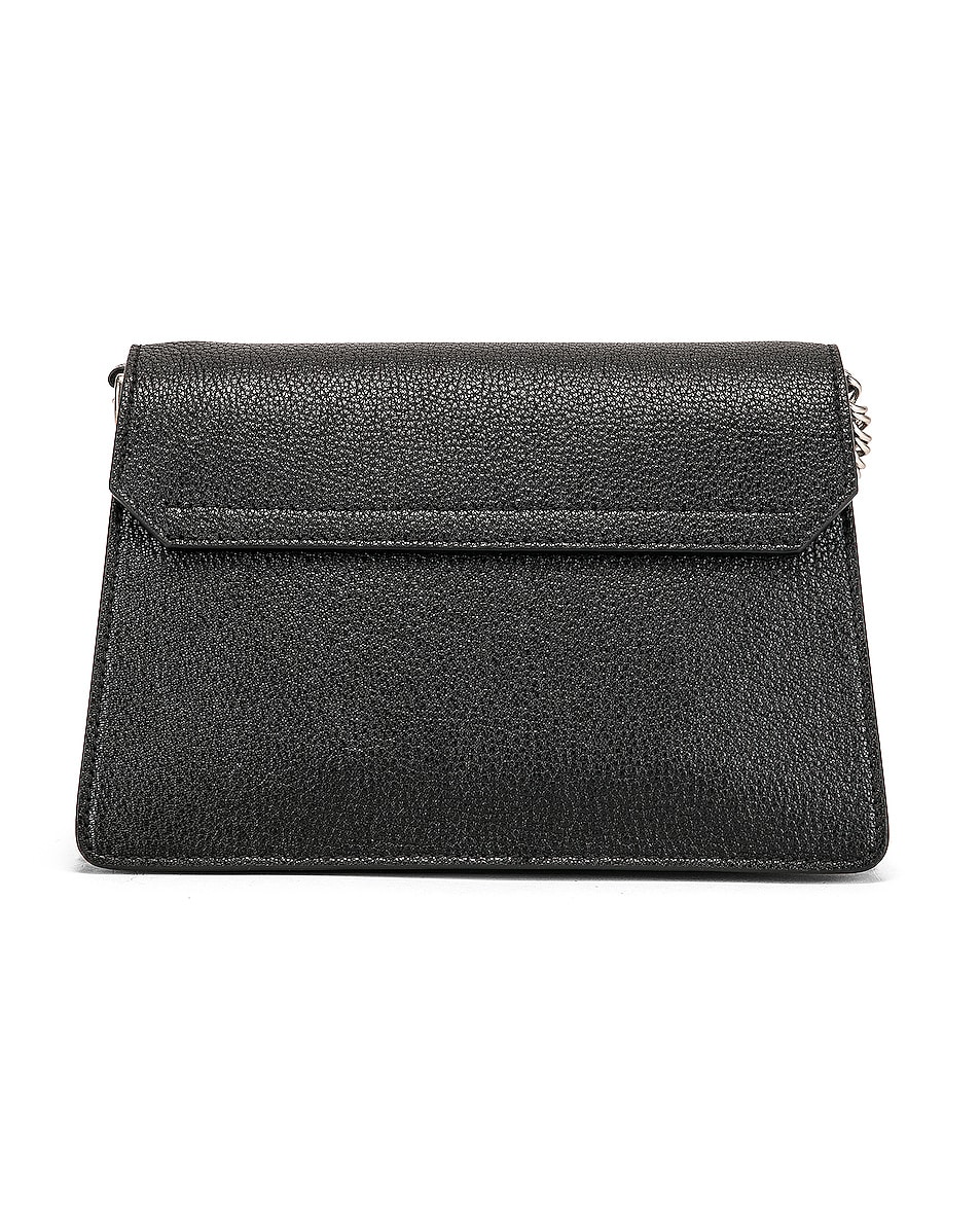 Image 3 of Givenchy Small Leather GV3 in Black