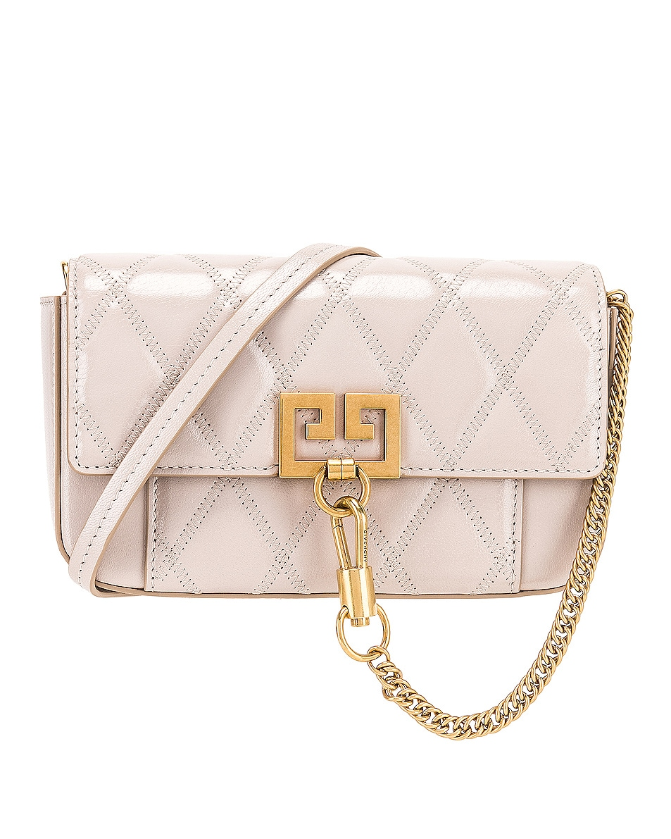 Image 1 of Givenchy Mini Pocket Chain Bag in Natural