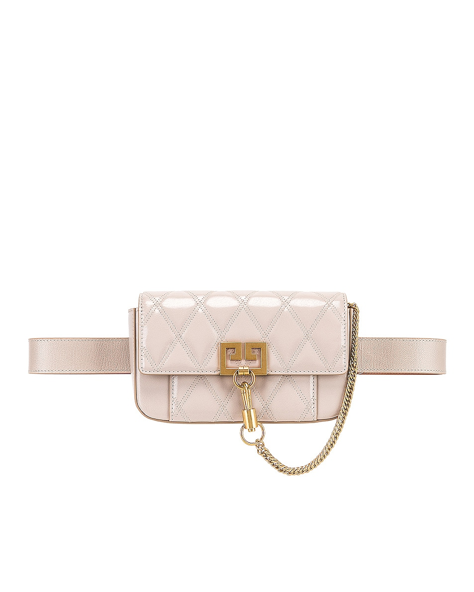 Image 4 of Givenchy Mini Pocket Chain Bag in Natural