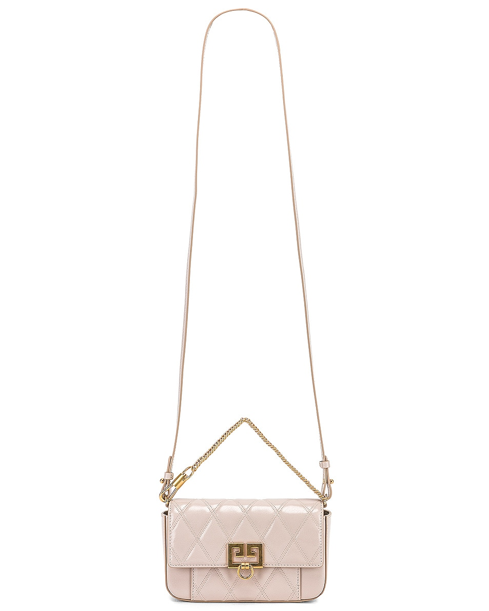 Image 6 of Givenchy Mini Pocket Chain Bag in Natural