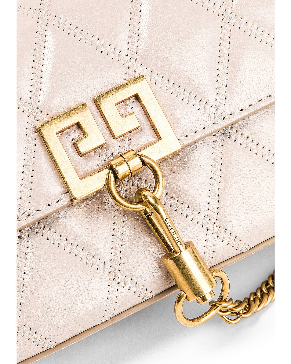 Image 8 of Givenchy Mini Pocket Chain Bag in Natural