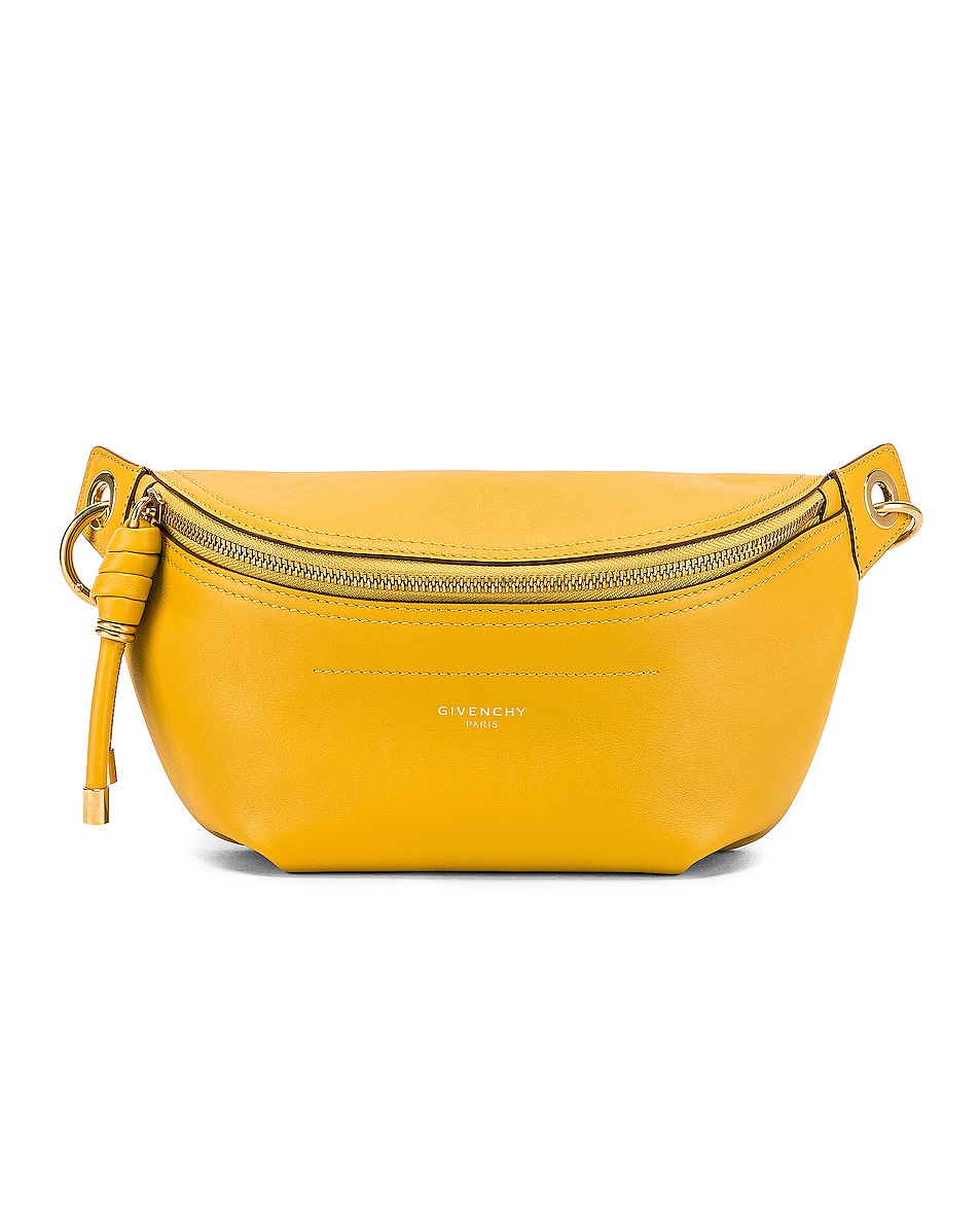 Image 1 of Givenchy Whip Chain Belt Bag in Yellow Curry