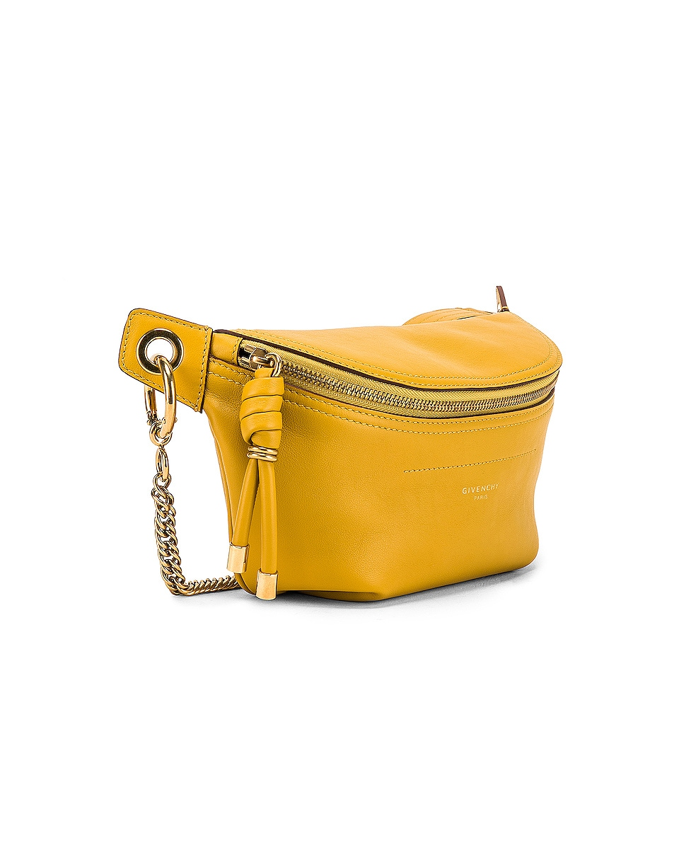 Image 4 of Givenchy Whip Chain Belt Bag in Yellow Curry