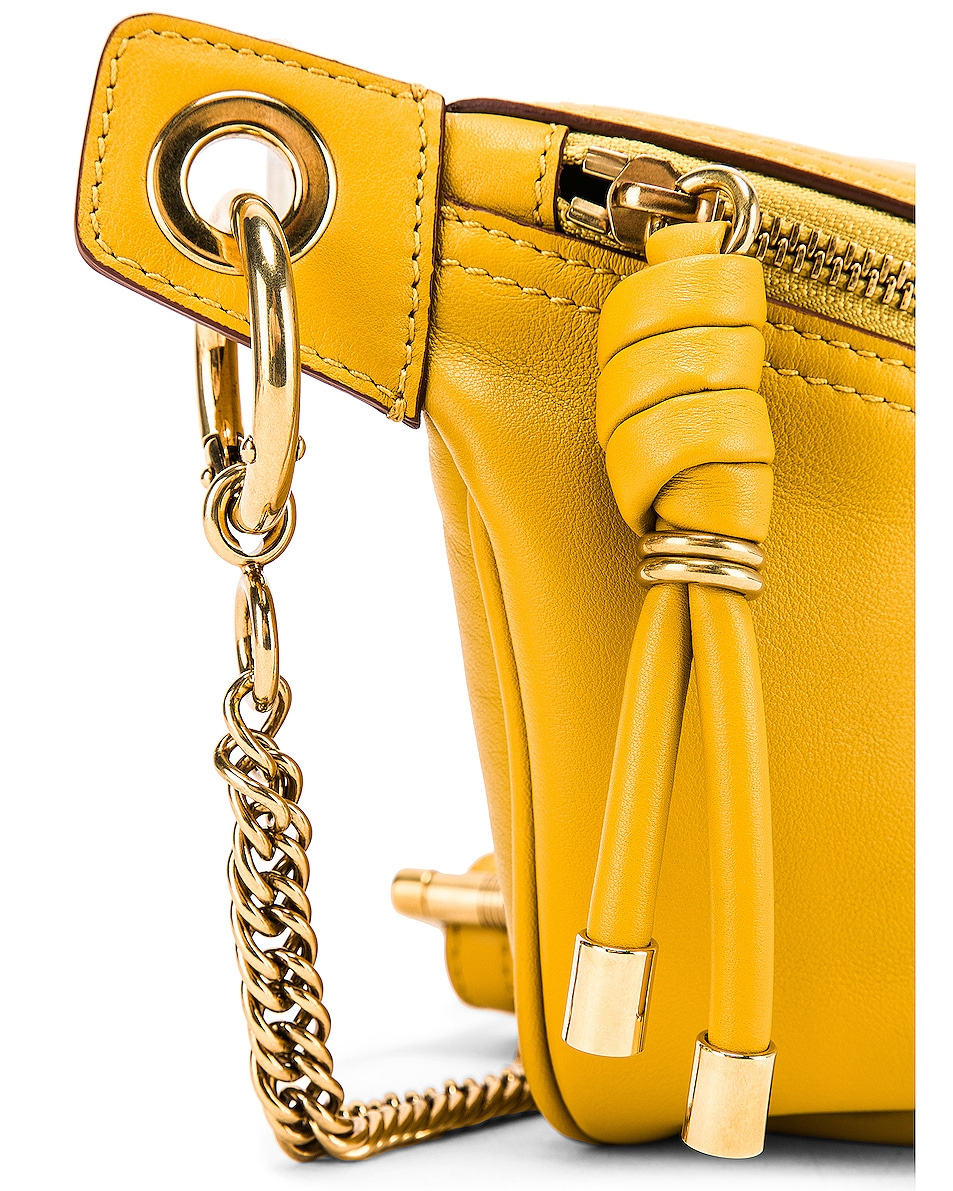 Image 6 of Givenchy Whip Chain Belt Bag in Yellow Curry