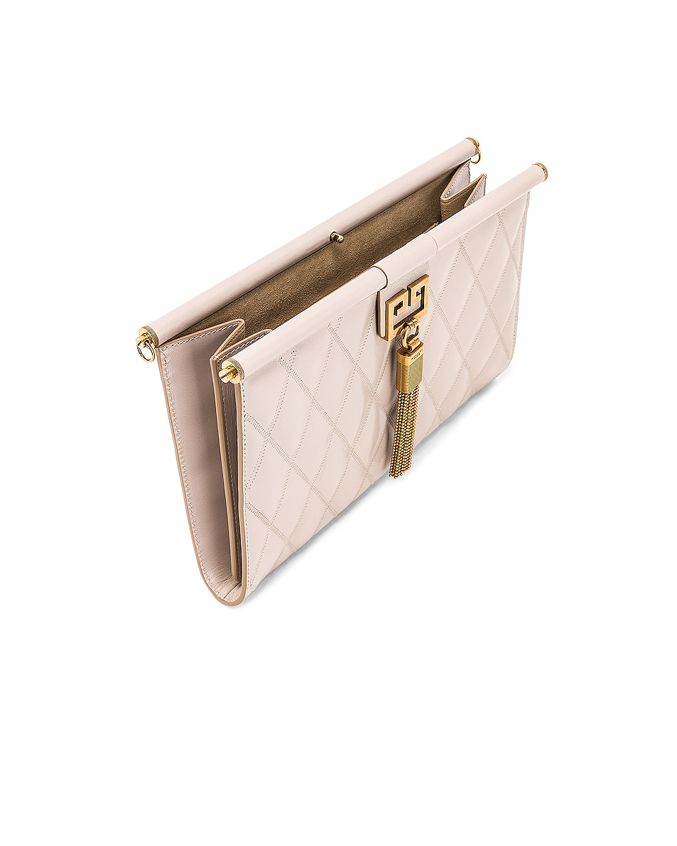 Image 5 of Givenchy Gem Medium Tassel Bag in Natural
