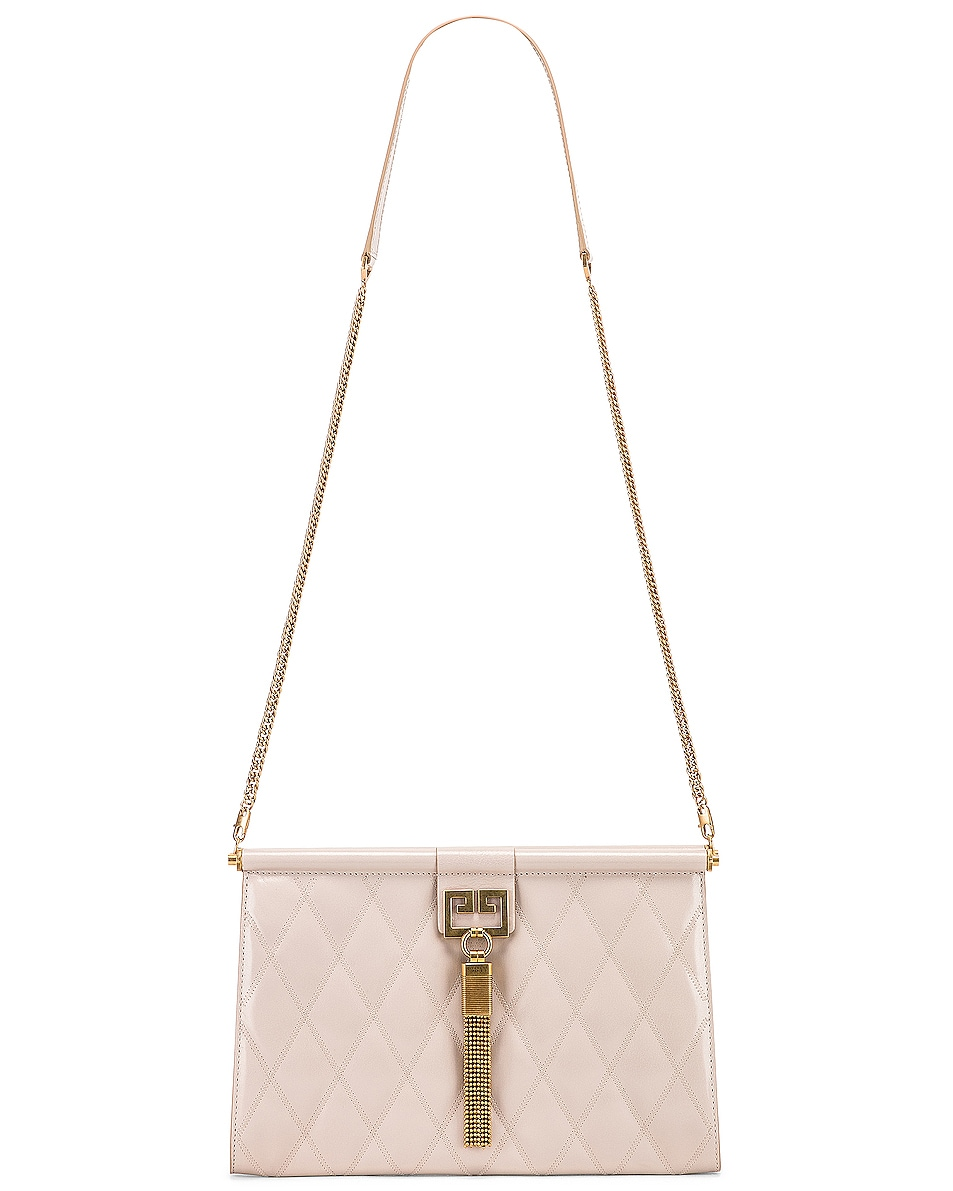 Image 6 of Givenchy Gem Medium Tassel Bag in Natural