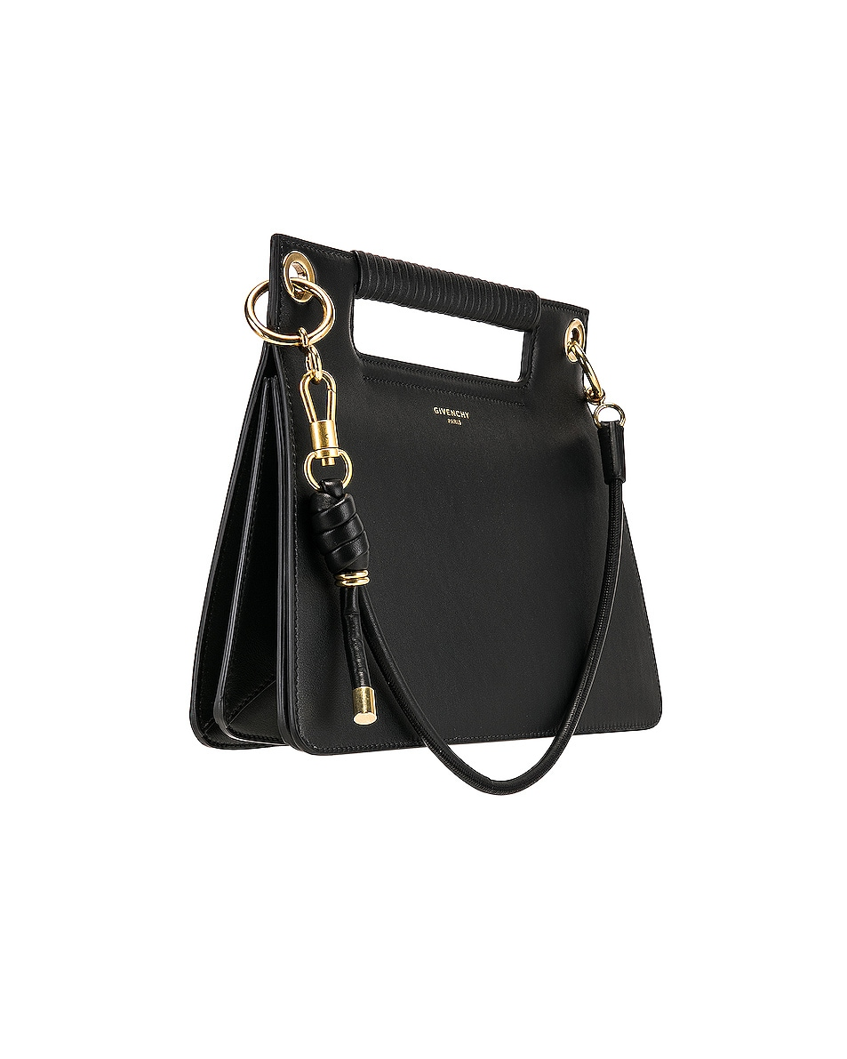 Image 4 of Givenchy Medium Whip Bag in Black