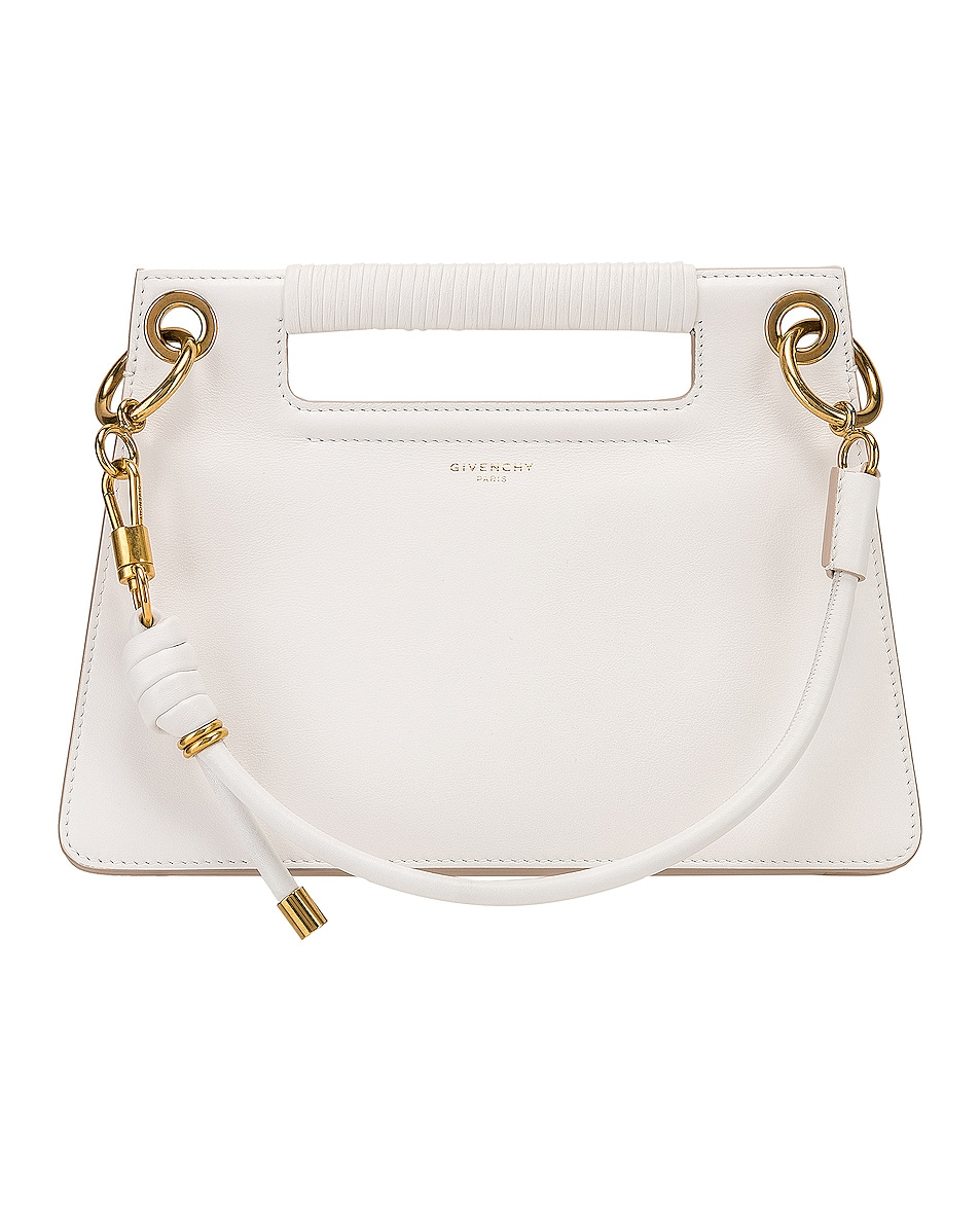 Image 1 of Givenchy Small Whip Bag in White