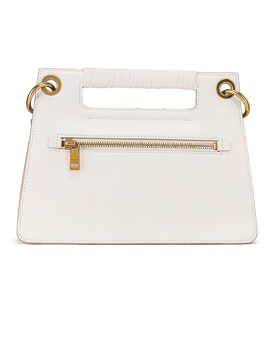 Image 3 of Givenchy Small Whip Bag in White