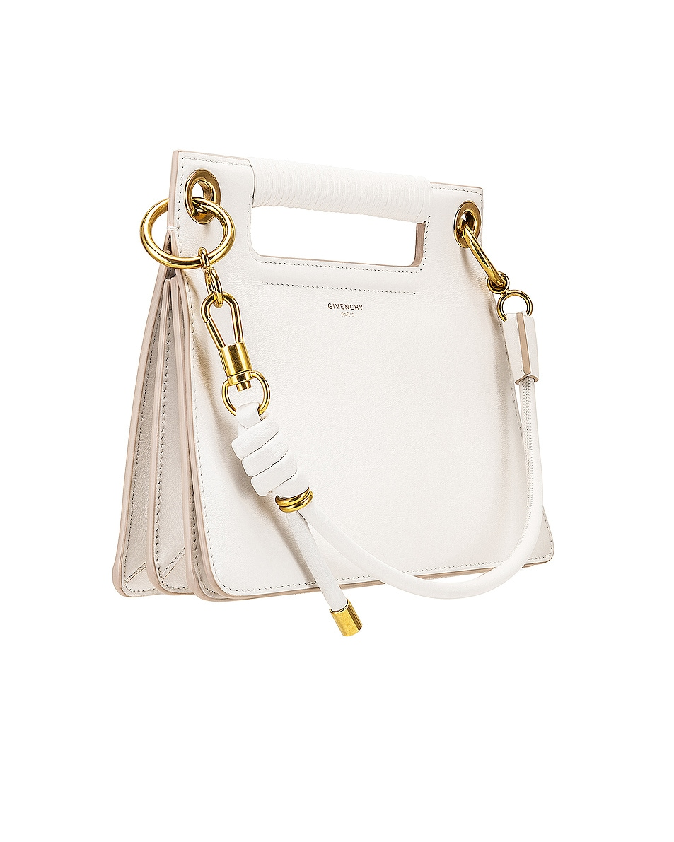 Image 4 of Givenchy Small Whip Bag in White