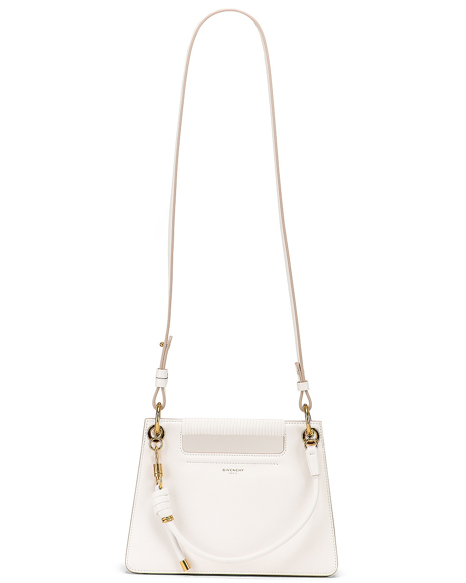 Image 6 of Givenchy Small Whip Bag in White
