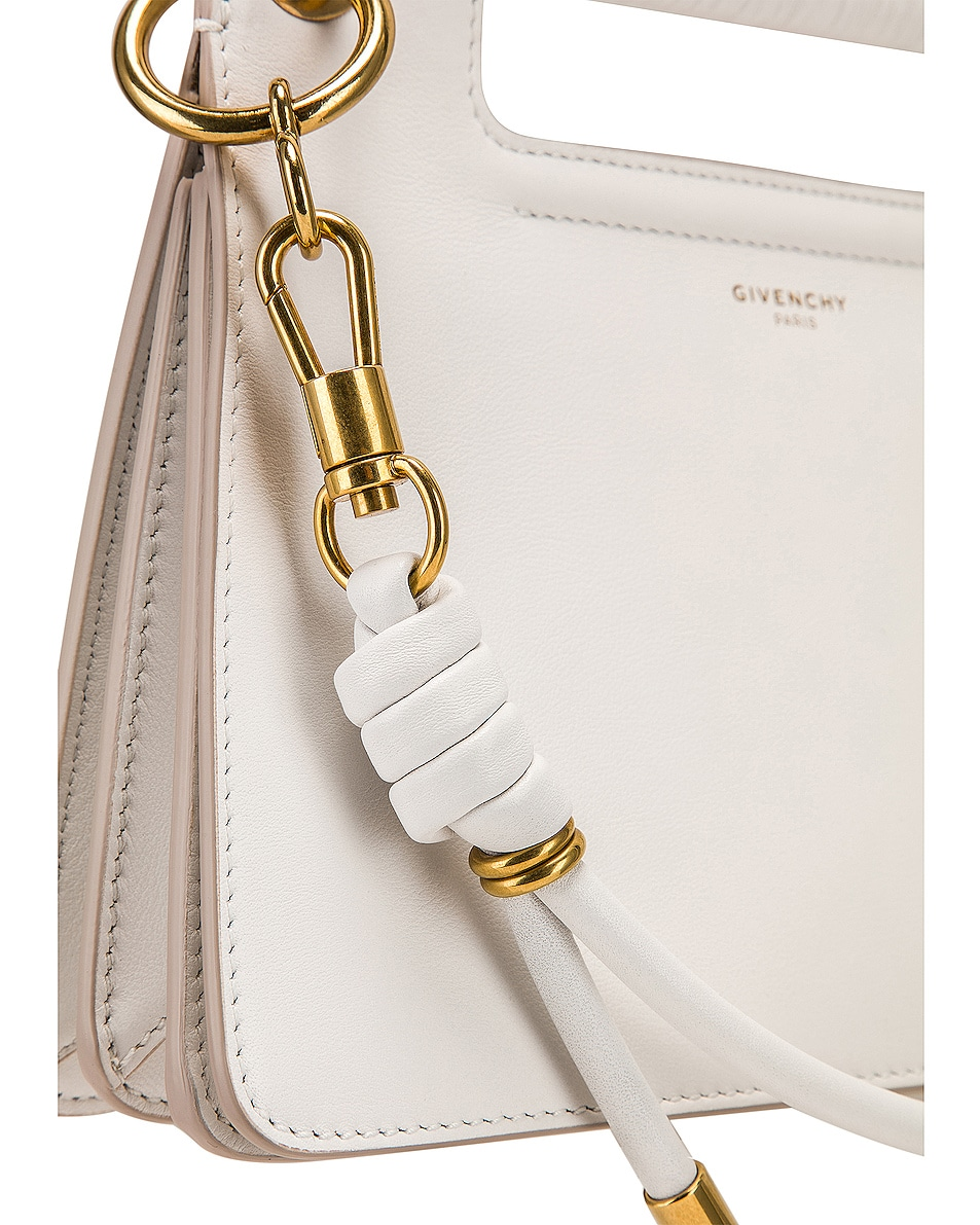 Image 8 of Givenchy Small Whip Bag in White